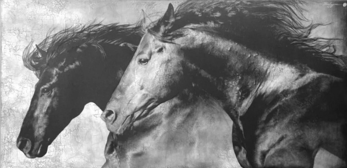 """""""Freedom without Restraint"""" 48"""" x 96"""""""